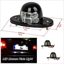 2 Pcs White 6LED Autos Vehicle License Plate Lights Truck Bed Courtesy Lamps 12V