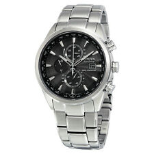 Citizen World Time A-T Stainless Steel Mens Watch AT8010-58E