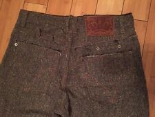 Authentic D&G DOLCE GABBANA Pants Trousers Wool gucci Tweed Bottom Made Italy