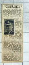 1939 Mr Fj Crawley, Chief Constable Of Newcastle Air Raids Officer
