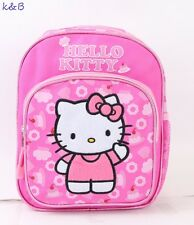 Hello Kitty Cupcake Girls 10'' Small Backpack Bag Kids School Book Bag - Pink