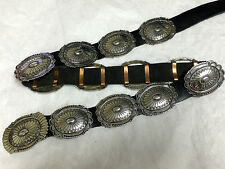 Very Rare Museum Quality Herbert Tsosie Concho Belt in .925 Sterling Silver