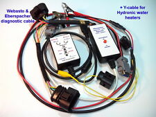 Eberspacher and Webasto diagnostic cable + Y-cable for Hydronic water heaters