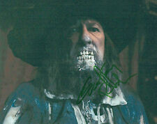 Geoffrey RUSH Signed Autograph Photo AFTAL COA Pirates of the Caribbean BARBOSSA