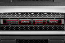 Ford Raptor F150 SVT Grille Insert Graphic Vinyl Sticker Grill Decal - RED
