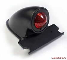 BLACK SPARTO BOBBER CHOPPER RETRO STYLE CUSTOM TAIL LIGHT LAMP FOR HARLEY FENDER