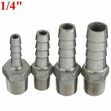 1/4 Inch Male Thread Pipe Barb Hose Tail Connector Adapter 6mm To 12mm