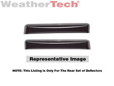 WeatherTech Side Window Deflectors -2007-2016 - Toyota Tundra Double Cab - 81450