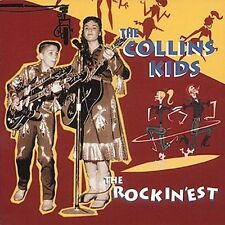 THE COLLINS KIDS - Rockinest CD ** Excellent Condition **