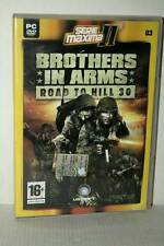 BROTHERS IN ARMS ROAD TO HILL 30 USATO OTTIMO PC DVD VERSIONE ITALIANA GD1 49129