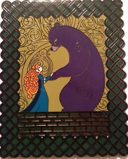 Not Disney Brave Merida & Eleanor in Bear Form Fantasy Fan Art Pin LE 50