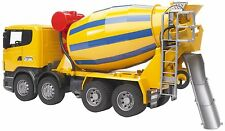 Bruder SCANIA R-Series Cement Mixer Kids Toy Truck 03554 NEW SAME DAY SHIP