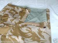 GENUINE BRITISH ARMY SURPLUS DESERT CAMO GORETEX TROUSERS, BRAND NEW IN BAG