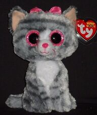 "TY BEANIE BOOS BOO'S - KIKI the 6"" CAT - MINT with MINT TAGS"