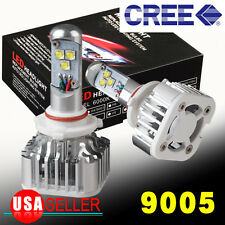 8000LM 6000K White LED Cree 60W Kit Headlight High Beam 9005 HB3 H10 9145 light