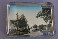 Briefbeschwerer - Paperweight , Ortsansicht, um 1900
