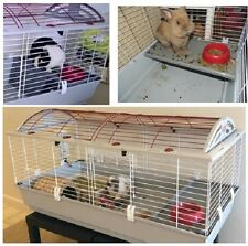 X-Large Hybrid Rabbit Cage Bunny Guinea Pig Ferret Chinchilla XL House White