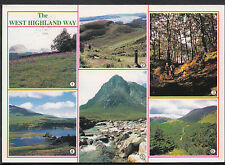 Scotland Postcard - Views of The West Highland Way    LC5264