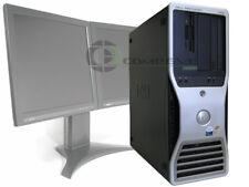 Dell Precision 490 Quad Core Intel Xeon CPU 2.33GHz 2GB 80GB Computer no OS PC