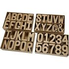 Extra Large Papier Mache Cardboard Letters & Numbers For Decorating 3D - 20.5cm