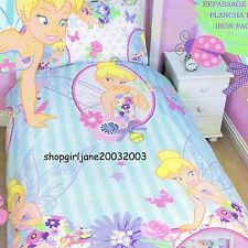 Disney Fairies Tinkerbell -Cherish CWorld- Single/Twin Bed Quilt Doona Cover set