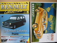 FASCICULE  25 RENAULT COLLECTION COLORALE PRAIRIE AVEC INSERT