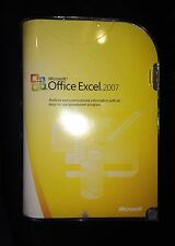 Microsoft Office Excel 2007 065-04940, Brand New, Factory Sealed