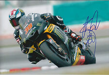 Bradley SMITH Signed Photo AFTAL Autograph COA Yamaha Rider Moto2 Mugello ITALY