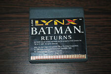 Jeu BATMAN RETURNS pour ATARI LYNX (CARTOUCHE SEULE)