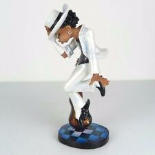 "Michael Jackson Dancing w/ Guitar Glossy Caricature Figurine Miniature 8.5""H New"