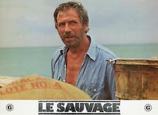 YVES MONTAND LE SAUVAGE 1975 PHOTO ANCIENNE VINTAGE LOBBY CARD N°4