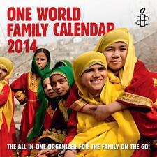 THE ONE WORLD FAMILY CALENDAR 2014 (9781780261157) -  (PAPERBACK) NEW