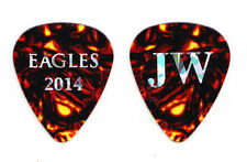 Eagles Joe Walsh Brown Faux Tortoise Guitar Pick - 2014 History Tour