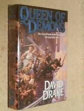 David Drake SIGNED Queen of Demons (Book Two Lord of the Isles) 1st Edn USHC