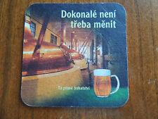 1 Beer Coaster from Czech Republic: Pilsner Urquell ORIGINAL