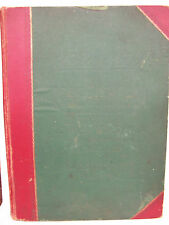 1915 SALESMAN'S SAMPLE SWATCH BOOK FOR MEN'S SUITS