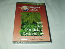 Year 'Round Tree, Shrub & Evergreen Care DVD NEW Gardening Jerry Baker PBS