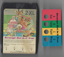 MEGO 1970S 2-XL TALKING ROBOT 8 TRACK PLAYER TAPE STRANGE BUT IS IT TRUE TESTED