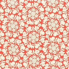 Michael Miller Strawberry Moon Petit Henna Garden Coral Fabric