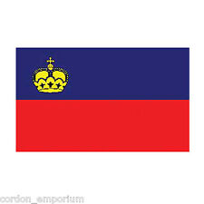 LIECHTENSTEIN POLYESTER INTERNATIONAL COUNTRY FLAG 3 X 5 FEET