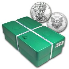 SPECIAL PRICE! 2017 1 oz Silver American Eagle BU (Monster Box of 500oz)