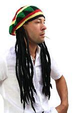Gorro chulo con Rasta esas trenzas atrás rastafari reggae jamaica rasta-Look gorra Jah