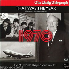 THAT WAS THE YEAR - 1970 NARRATED BY ROBERT POWELL which shaped our world