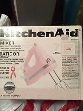 KitchenAid  5-Speed Ultra Power Hand Mixer, Pink