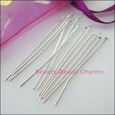 200Pcs Head Pins Finding Connectors Gold Dull Silver Bronze Plated 16mm