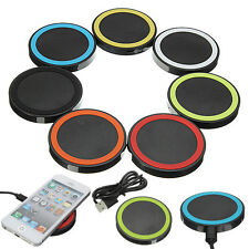 QI Wireless Charging Charger Pad for Cell Phone ios Samsung HTC MOTO LG Nexus4/5