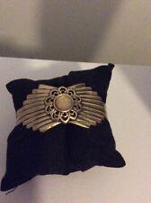 $49 Lucky Brand Citrine Cabochen Sunburst Bracelet L 70