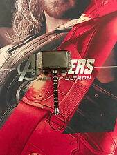 HOT TOYS MMS 306 Avengers: AGE of Ultron THOR Loose DIECAST METAL Mjolnir Martello