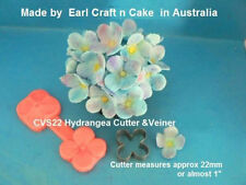 Hydrangea Cutter & Veiner Cake Decorating Sugar Flower Gum Paste Tools