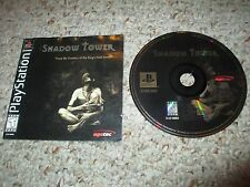 Shadow Tower (Sony PlayStation 1, 1999) w/ Manual ps1 King's Field
